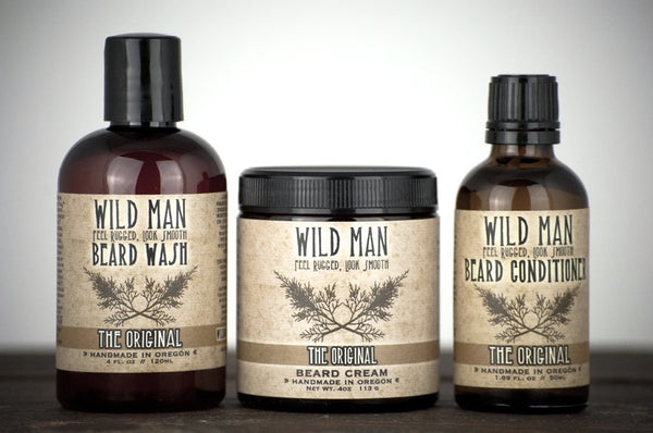 Image of Wild Man - Full Size Beard Gift Set - Wild Rose Herbs - 1