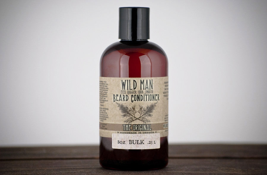 Image of Wild Man Beard Conditioner - BULK - 240ml // 8oz - Wild Rose Herbs - 1