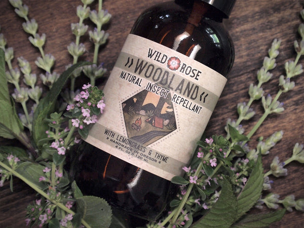 Natural Insect Spray Woodland Wild Rose