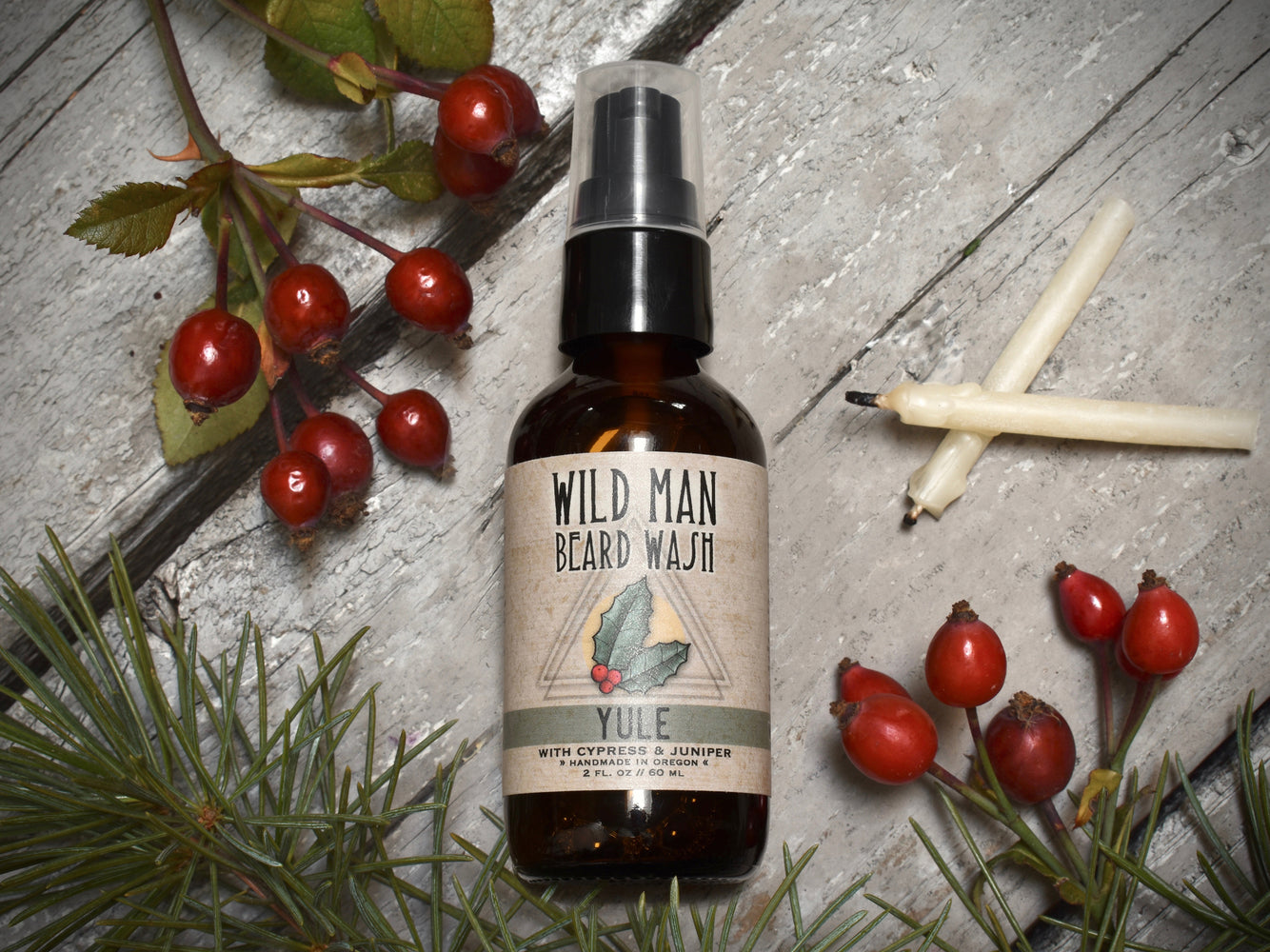 Wild Man Beard Wash - Yule