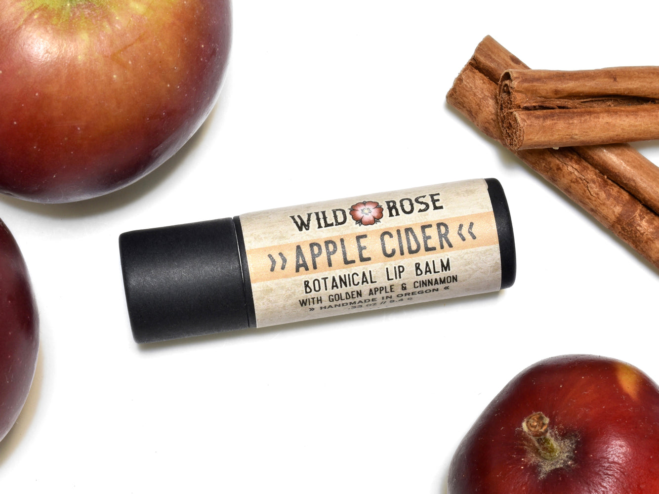 Apple Cider Lip Balm in Biodegradable Tube