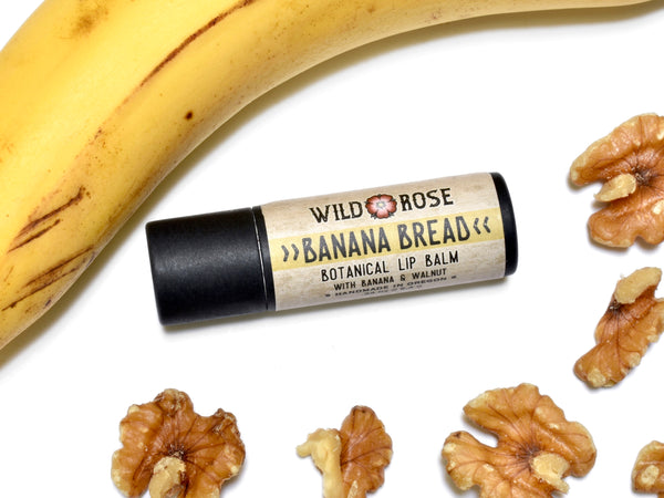 Banana Bread Lip Balm in Biodegradable Tube