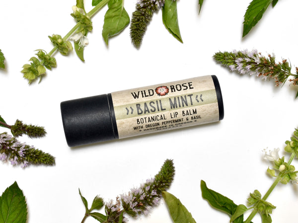 Basil Mint  - Natural Lip Balm