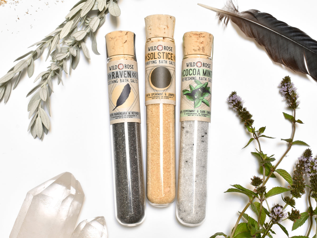 Bath Salt Sampler Set