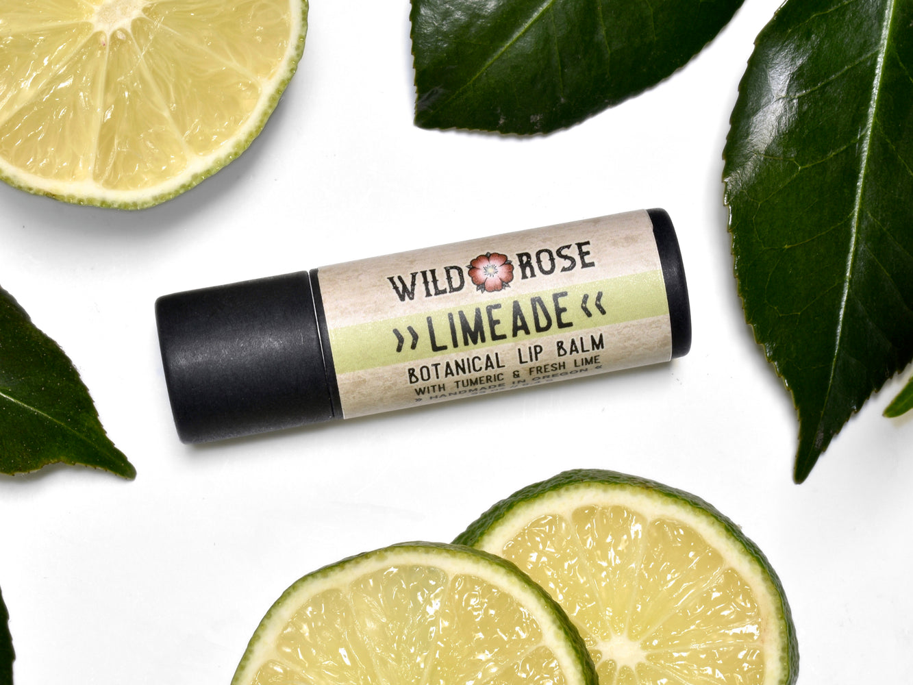 Limeade Lip Balm in Biodegradable Tube