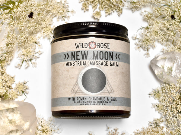 New Moon - Menstrual Massage Balm