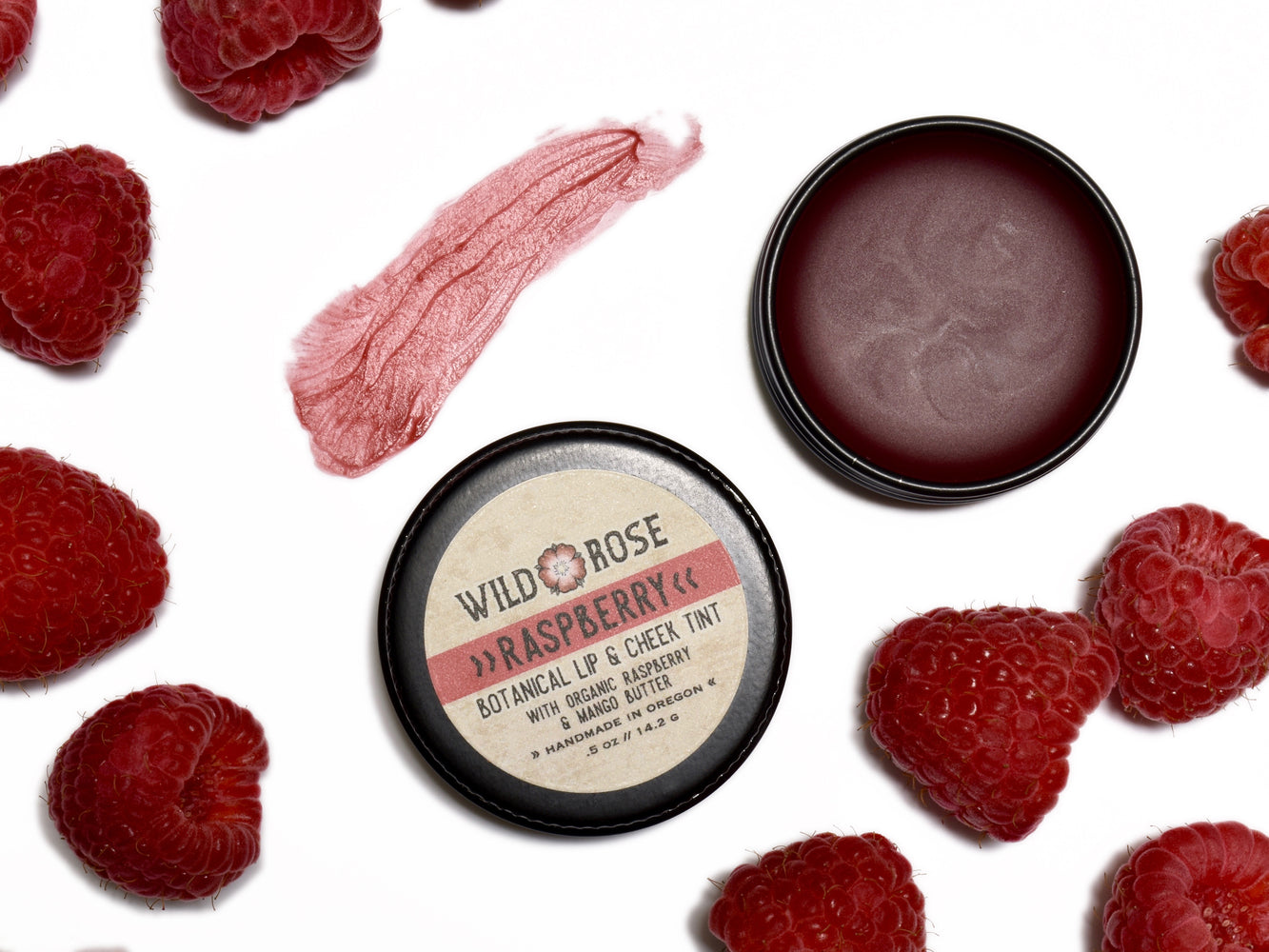 Raspberry - Botanical Lip & Cheek Tint