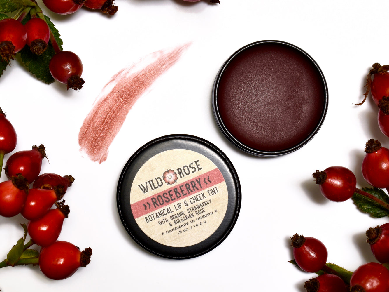 Roseberry - Botanical Lip & Cheek Tint