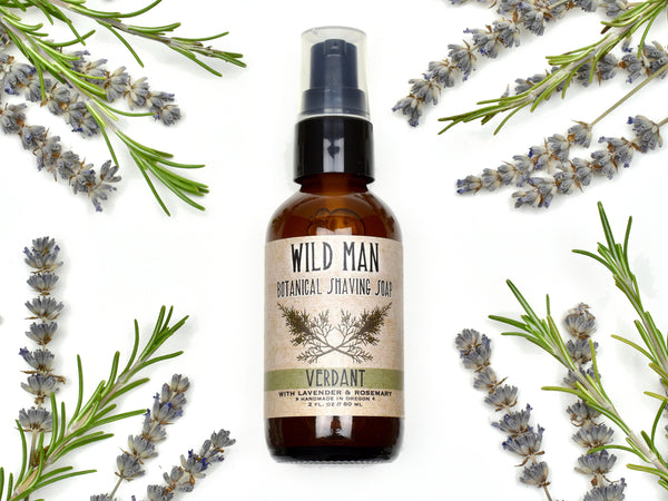 Wild Man - Botanical Shaving Soap & Cleanser
