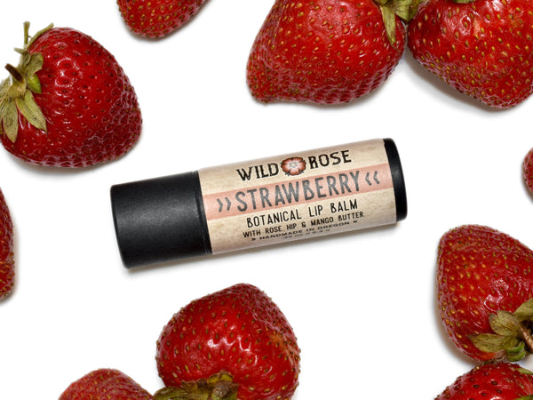 Strawberry - Natural Lip Balm