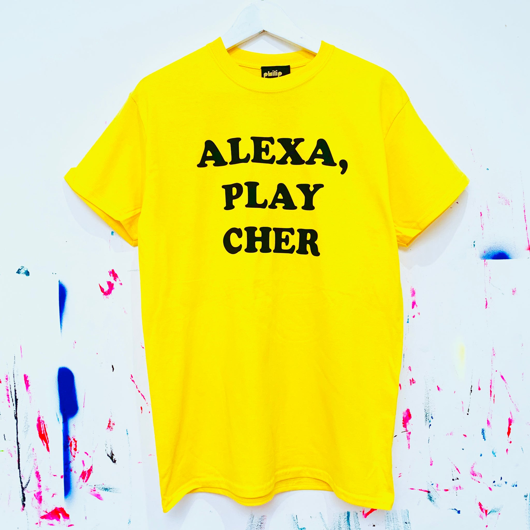 Alexa, Play Cher T-Shirt Yellow
