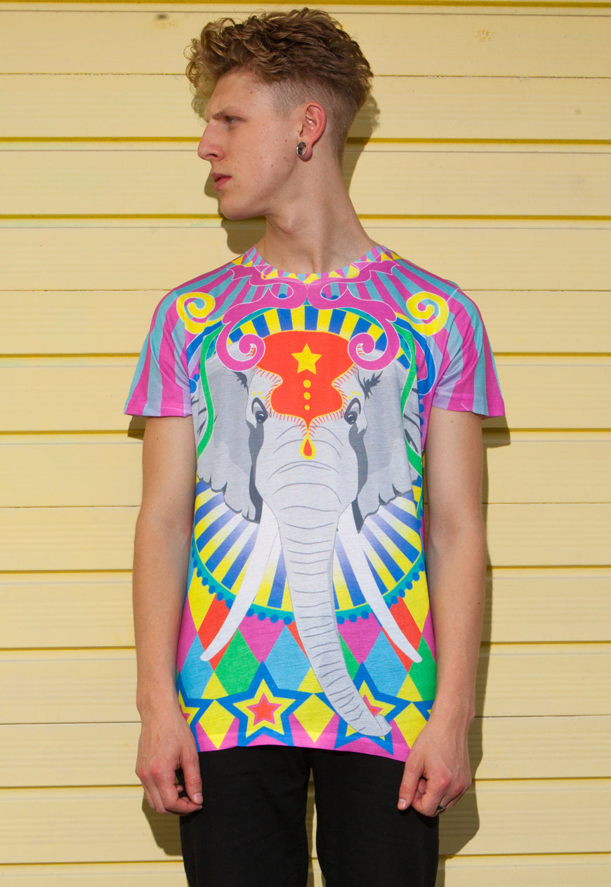 Elephant T-Shirt by Dazzle And Jolt