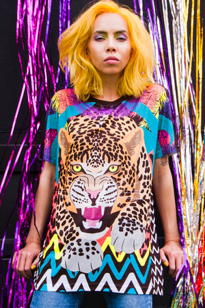 Leopard T-Shirt by Dazzle and Jolt