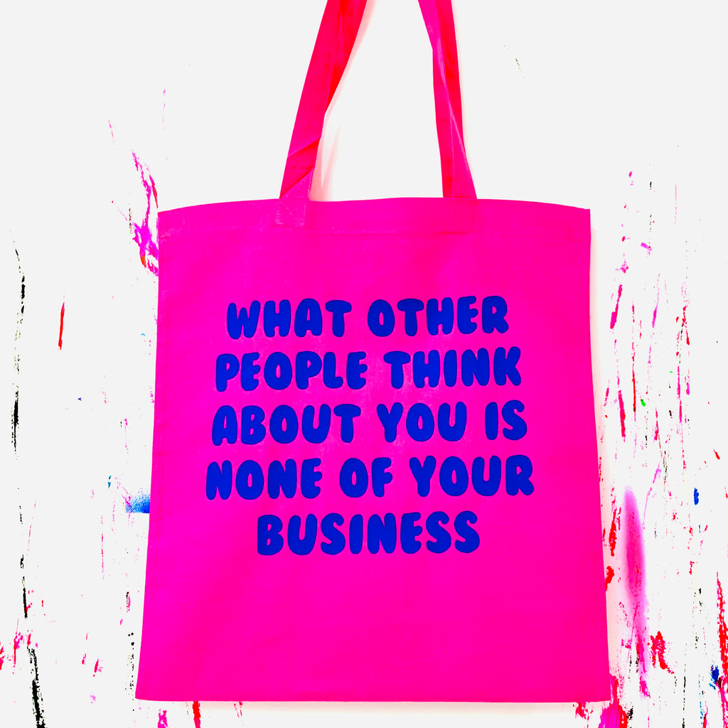 Other People Tote Bag - Pink