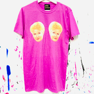 Pair of Pats T-Shirt - Purple