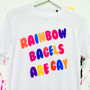 Rainbow Bagels T-Shirt