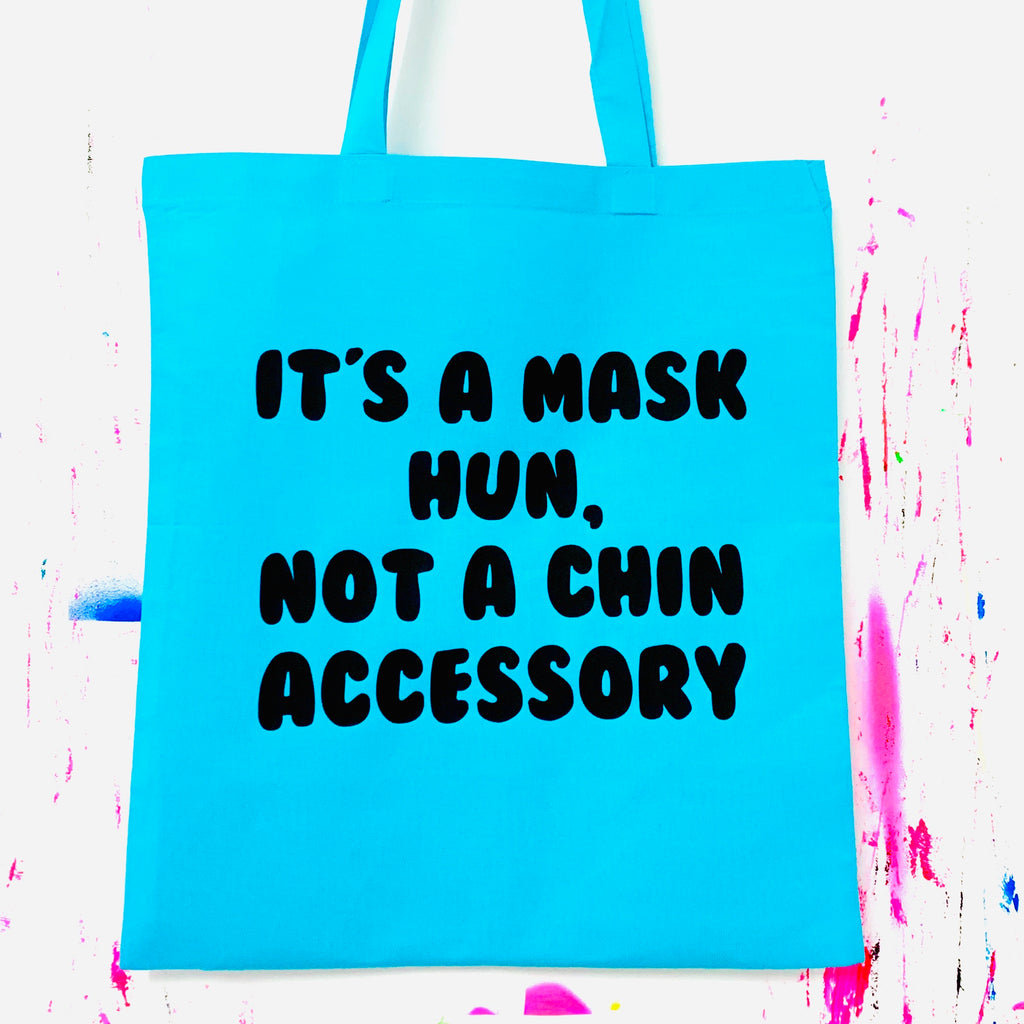 IT'S A MASK HUN Tote Bag