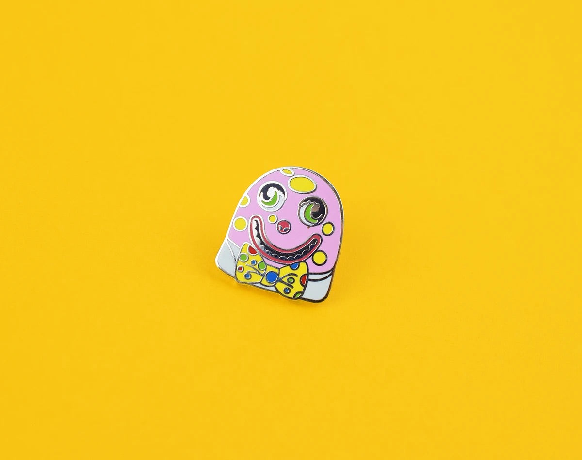 Mr Blobby Enamel Pin