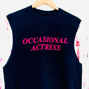 Occasional Actress Tank T-Shirt