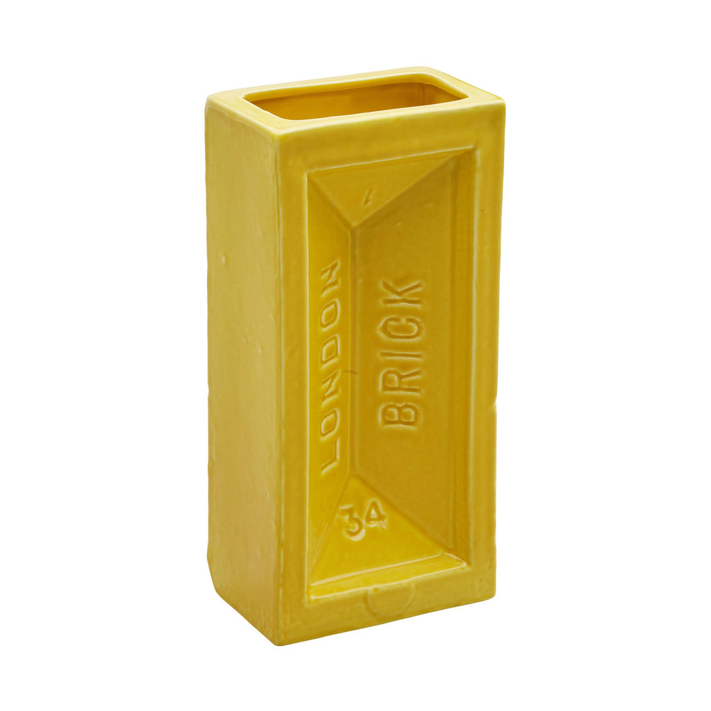 London Brick Vase - Yellow