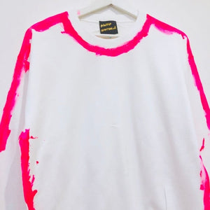 Neon Pink Outline Sweatshirt