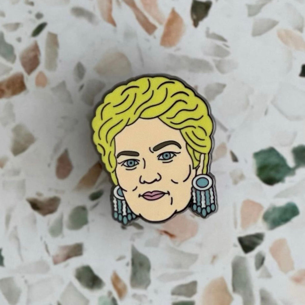 PAT BUTCHER ENAMEL PIN
