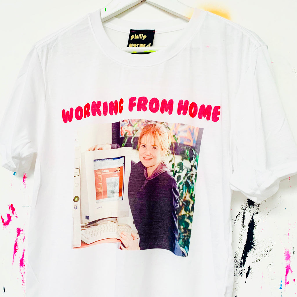 Huns Working From Home T-Shirt