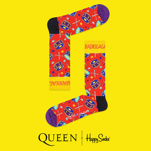 QUEEN X HAPPY SOCKS - Radio Gaga