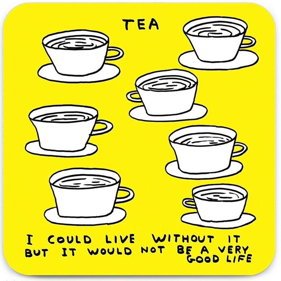 Tea Coaster - David Shrigley