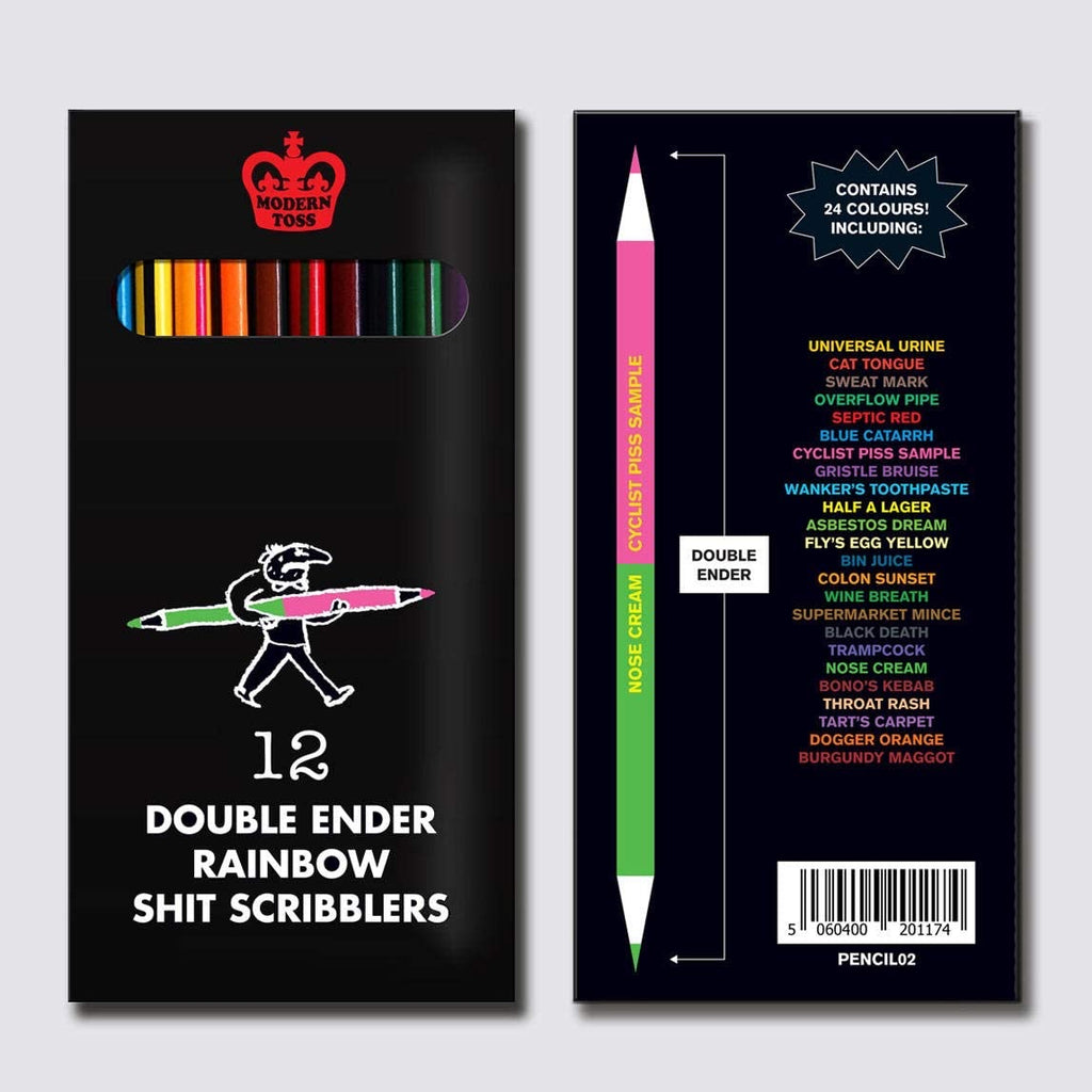 Double Ended Shit Scribbler Pencils