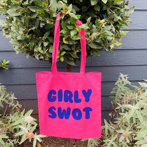 GIRLY SWOT Tote Bag