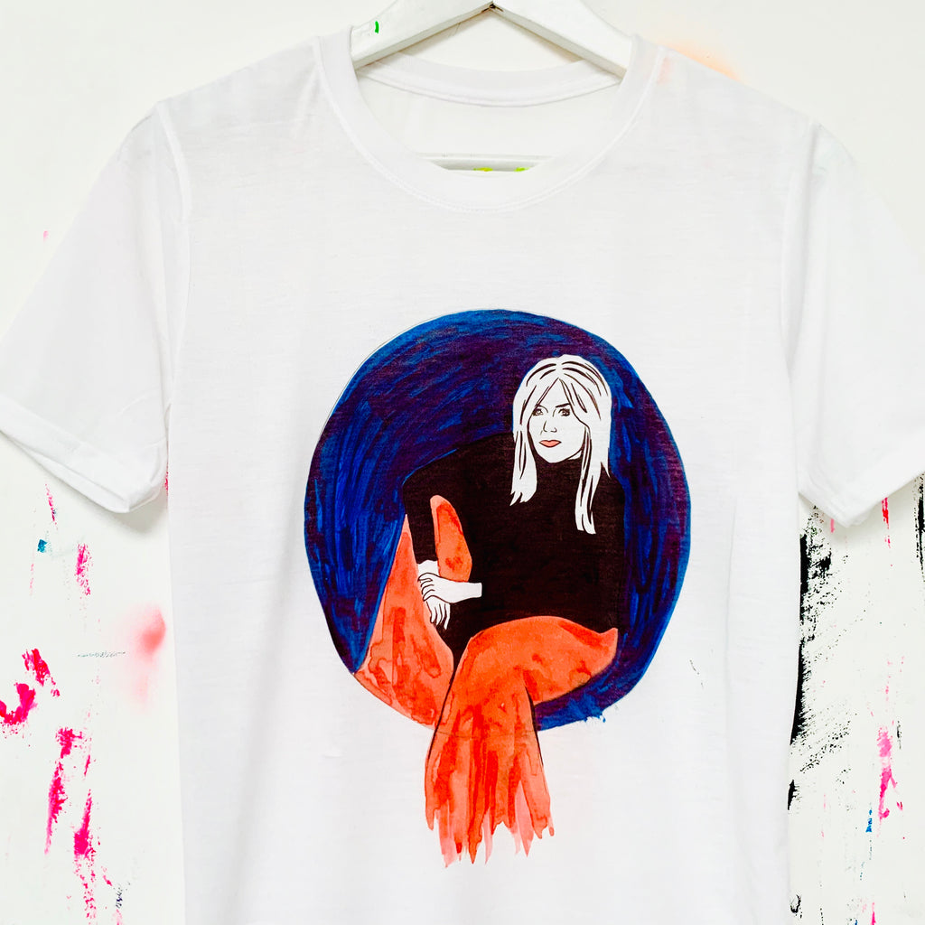 Michelle Collins T-Shirt by Donald Urquhart