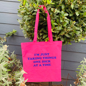 I'M JUST TAKING Tote Bag