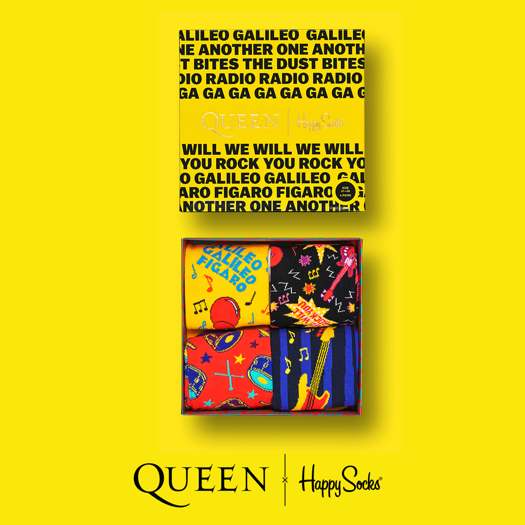 Queen Happy Socks Gift Box