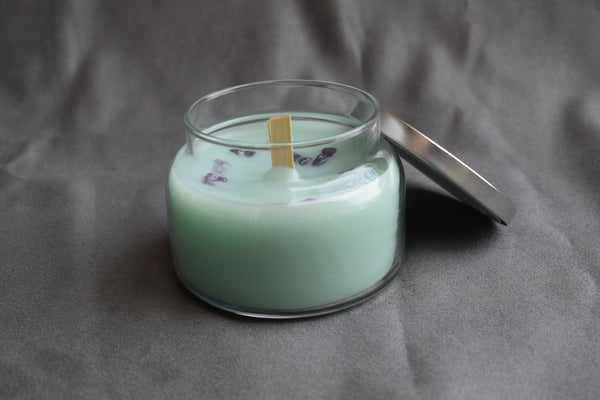 White Sage and Lavender Prayer and Meditation Candle