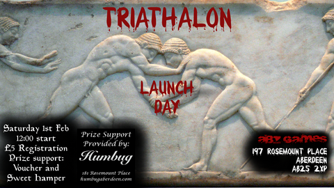 Triathalon Launch Day