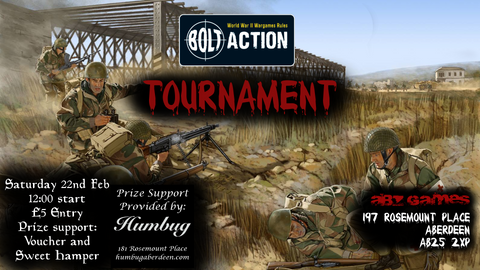 Bolt Action Tournament