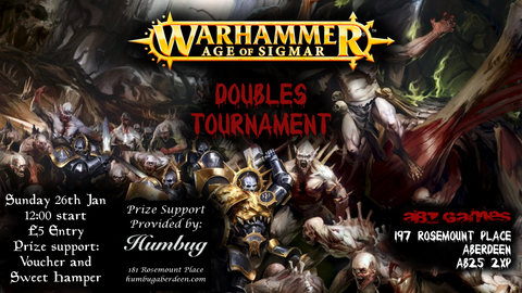 Age of Sigmar Doubles Tournament