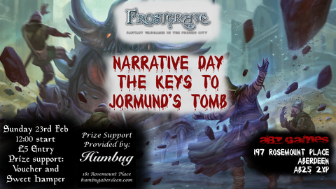 Frostgrave Gaming Day