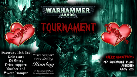 Warhammer 40K Doubles Tournament