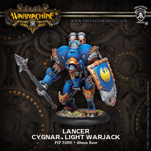Cygnar Light Warjack Lancer