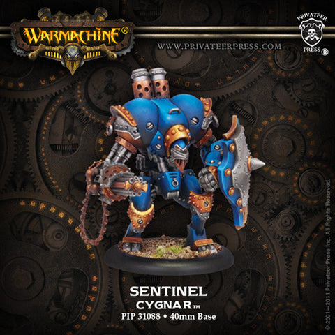 Cygnar Light Warjack Sentinal