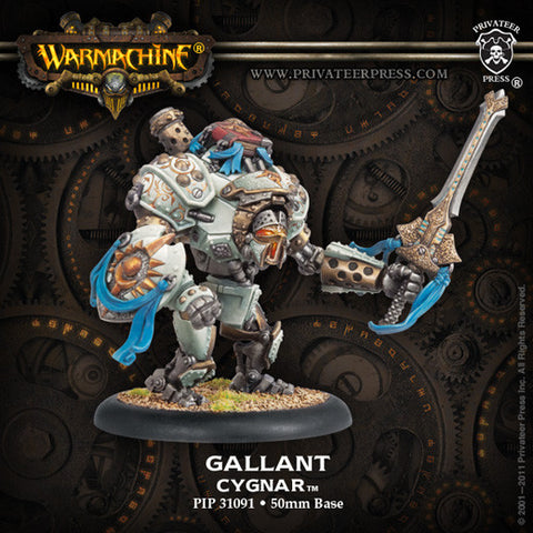 Cygnar Ally Gallant Upgarde Kit