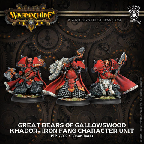 Khador Great Bears Of Gallowswood