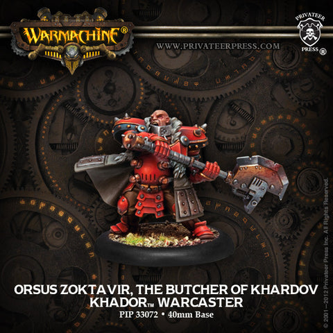 Khador Butcher Of Khardov