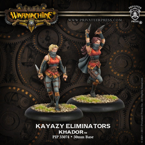 Khador Allies Kayazy Eliminators