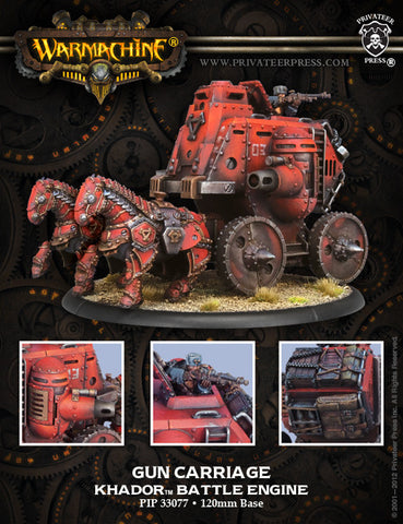 Khador Battle Engine Gun Carriage Engine