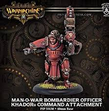 Khador Ca Man O War Bombardier Officer