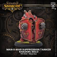 Khador Solo Man O War Suppression Tanker