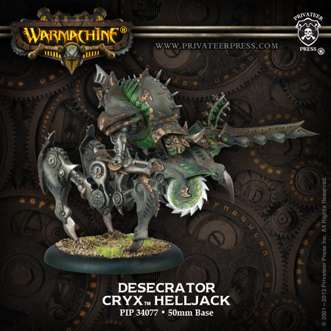 Cryx Desecrator Or Harrower Or Leviathan
